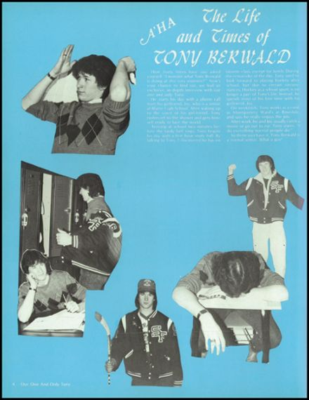 1986 St. Francis High School Yearbook Page 8