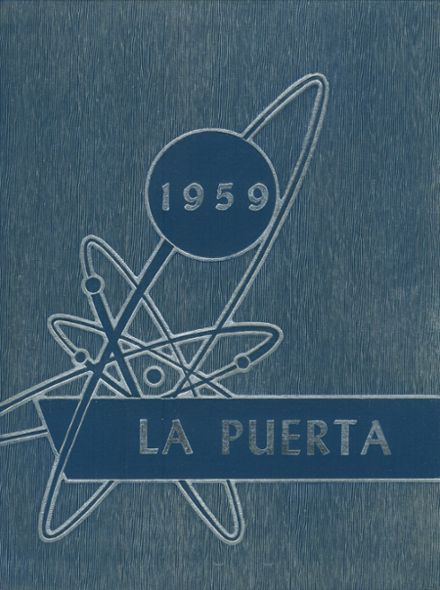 1959 Caruthers Union High School Yearbook Cover