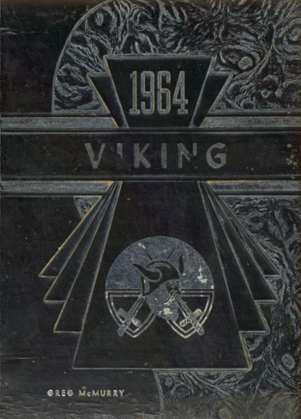 1964 Mossyrock High School Yearbook Cover