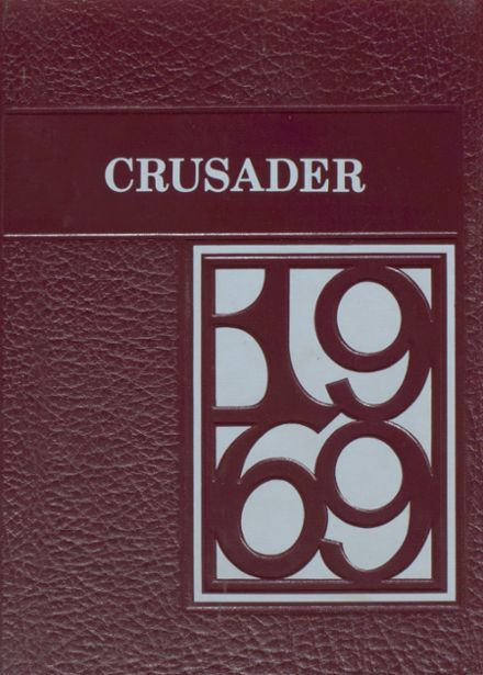 1969 Central Wisconsin Christian High School Yearbook Cover