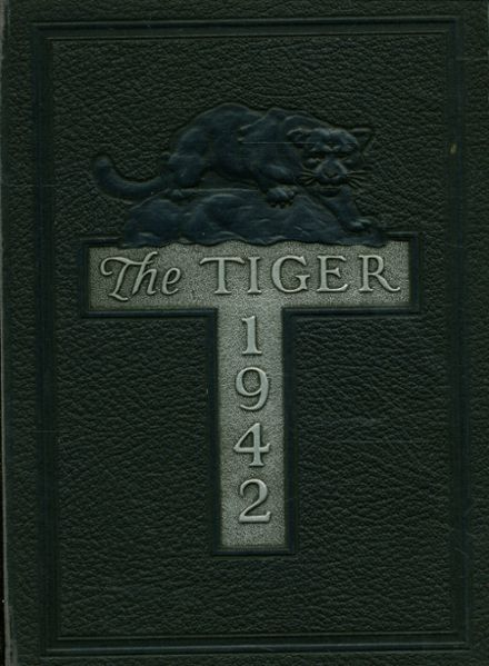 1942 South Norfolk High School Yearbook Cover