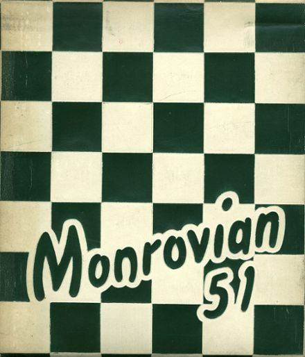 1951 Monrovia High School Yearbook Cover