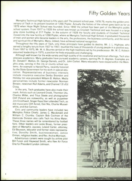 1979 Memphis Technical High School Yearbook Page 6