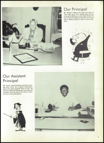 1979 Memphis Technical High School Yearbook Page 9