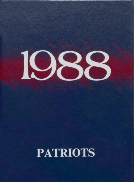 1988 Union County High School Yearbook Cover