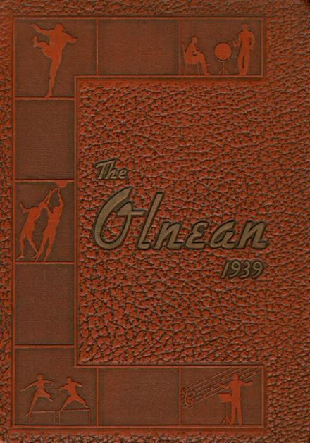 1939 Olney Township High School Yearbook Cover