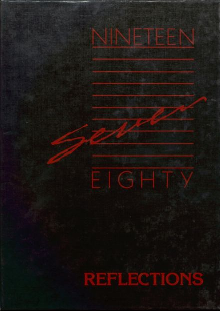 1987 St. Ansgar High School Yearbook Cover