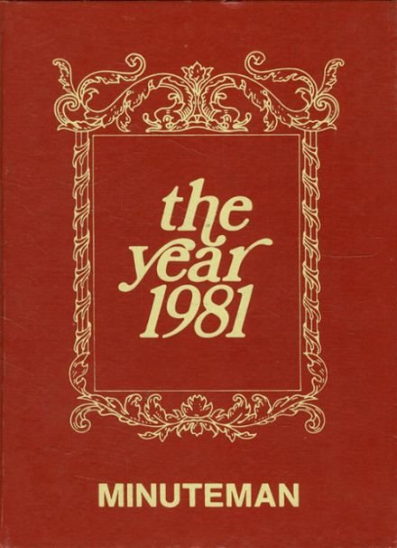 1981 Bible Baptist Academy Yearbook Cover