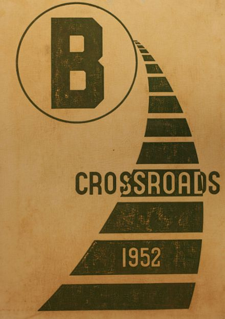 1952 Brighton High School Yearbook Cover