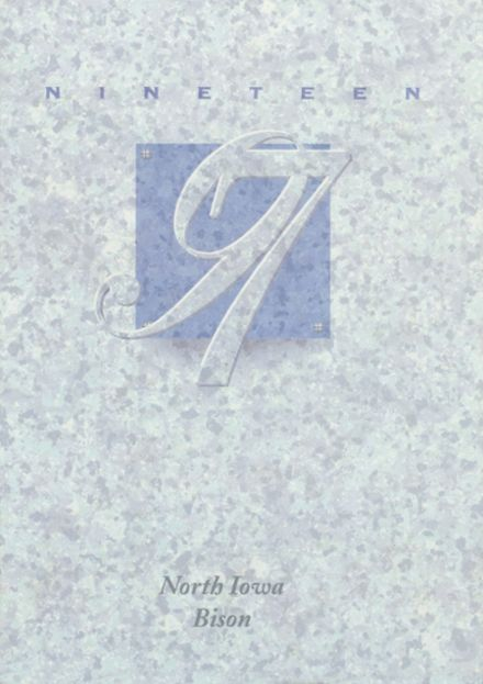 1997 North Iowa High School Yearbook Cover