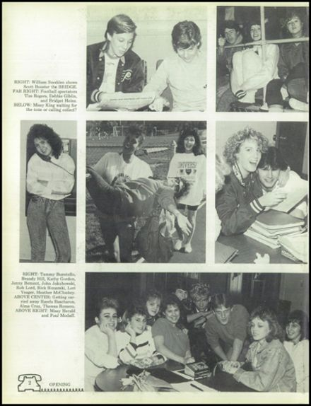 1988 West Chicago Community High School Yearbook Page 6