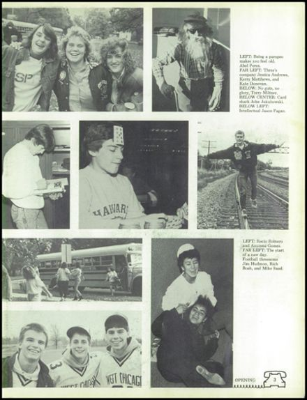 1988 West Chicago Community High School Yearbook Page 7