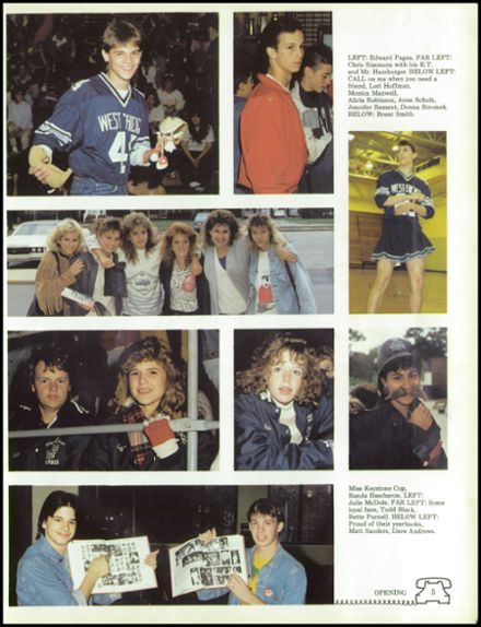 1988 West Chicago Community High School Yearbook Page 9