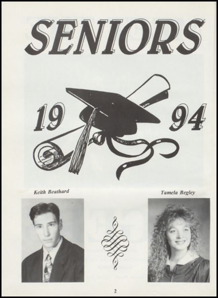 1994 Tushka High School Yearbook Page 6