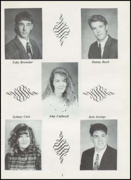 1994 Tushka High School Yearbook Page 7