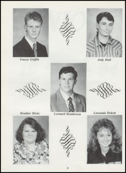 1994 Tushka High School Yearbook Page 8