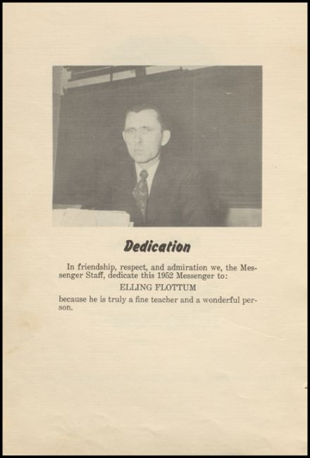 1952 Glenwood City High School Yearbook Page 6