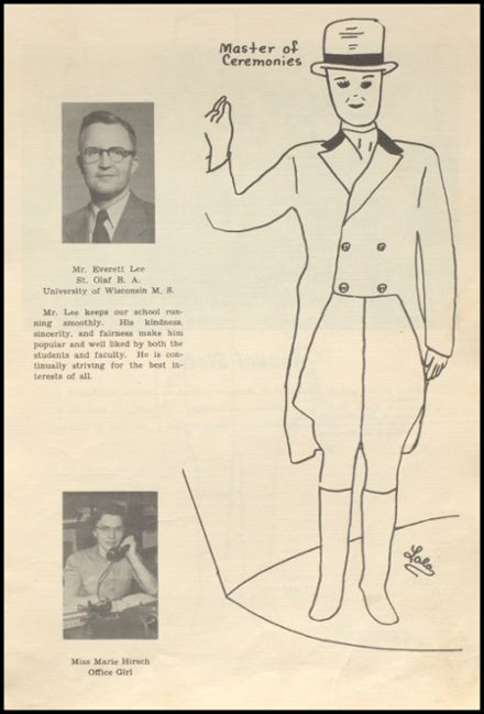 1952 Glenwood City High School Yearbook Page 9