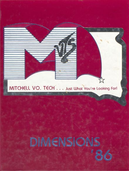 1986 Mitchell Vocational - Technical School Yearbook Cover