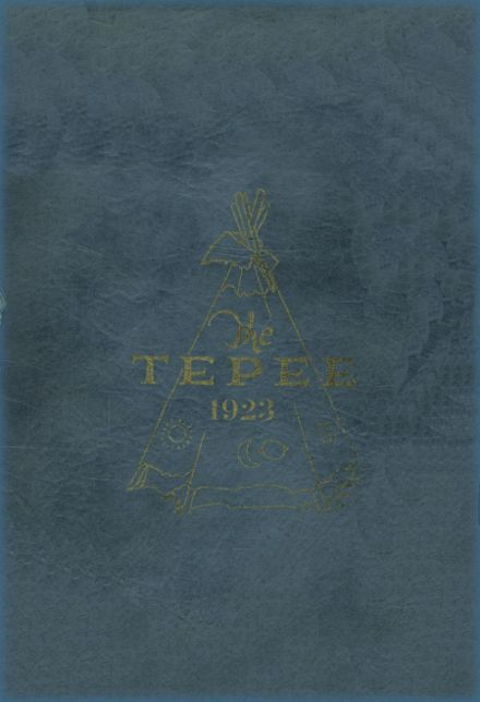 1923 Marlow High School Yearbook Cover