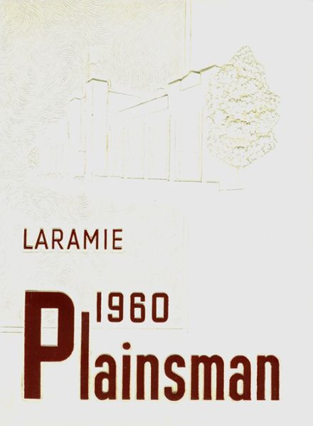 1960 Laramie High School Yearbook Cover
