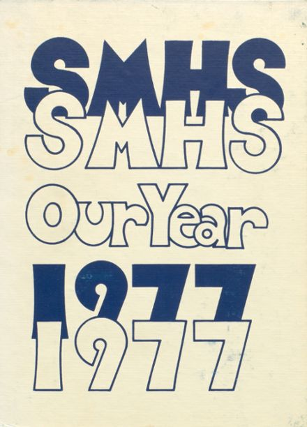 1977 Saint Marys High School Yearbook Cover
