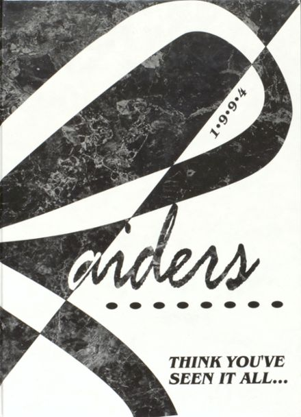 1994 Mead High School Yearbook Cover