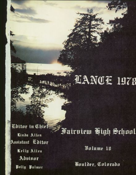 1978 Fairview High School Yearbook Page 5