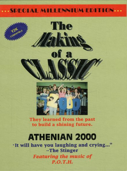 2000 Athens High School Yearbook Cover