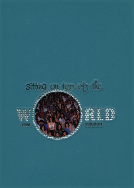 1990 Spanish River High School Yearbook Cover