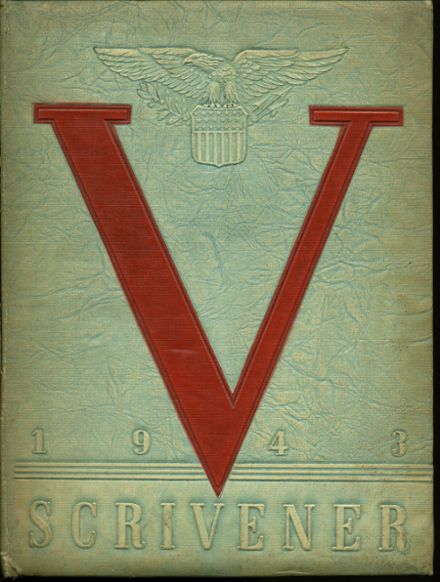 1943 Springfield (Delaware County) High School Yearbook Cover
