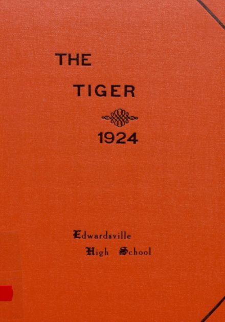 1924 Edwardsville High School Yearbook Cover