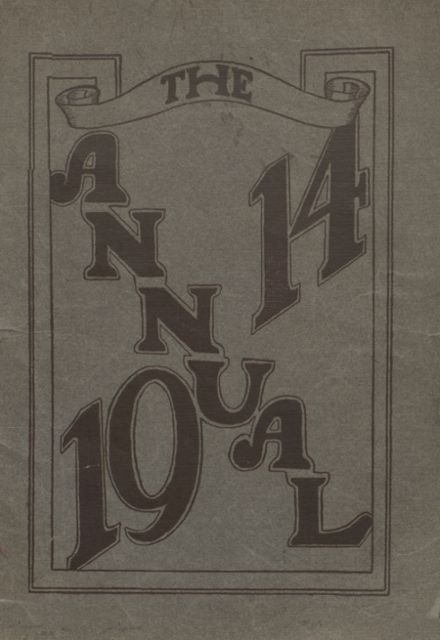 1914 Beaver Area High School Yearbook Cover