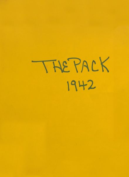 1942 Dilley High School Yearbook Cover
