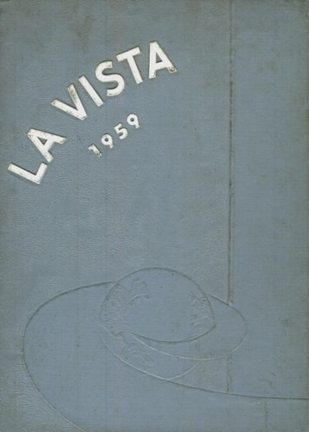 1959 United High School Yearbook Cover