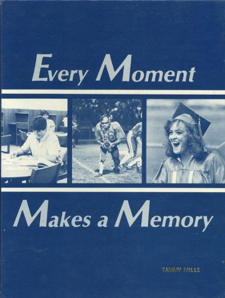 1986 Berkeley High School Yearbook Cover