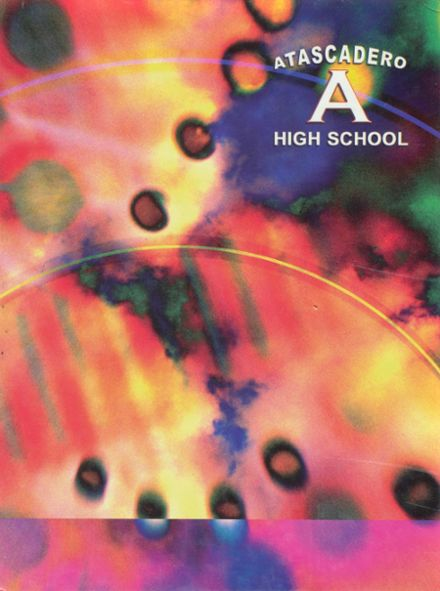 2002 Atascadero High School Yearbook Cover