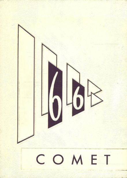 1966 Cresbard High School Yearbook Cover