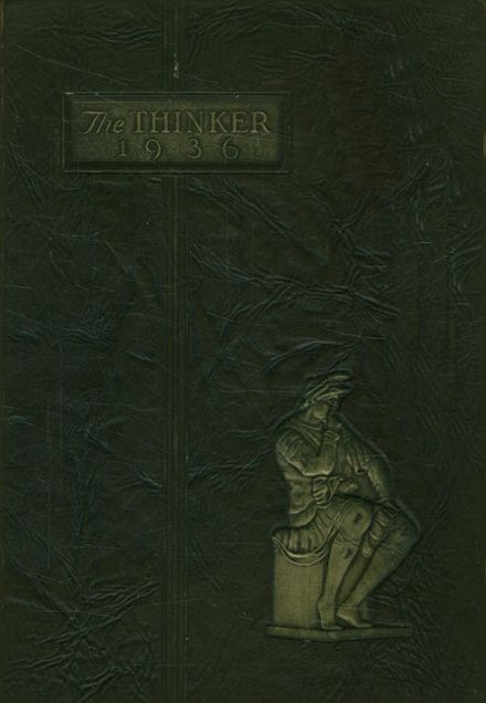 1936 Haverhill High School Yearbook Cover