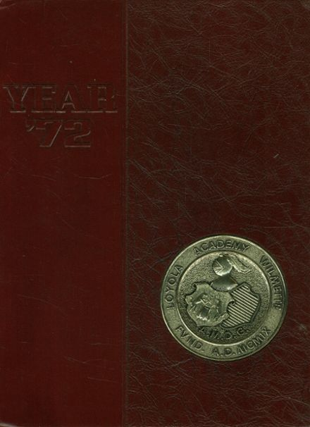 1972 Loyola Academy Yearbook Cover