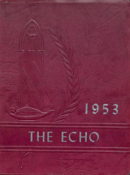 1953 Lincoln High School Yearbook Cover