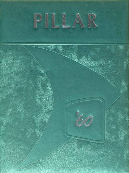 1960 Huntley Project High School Yearbook Cover