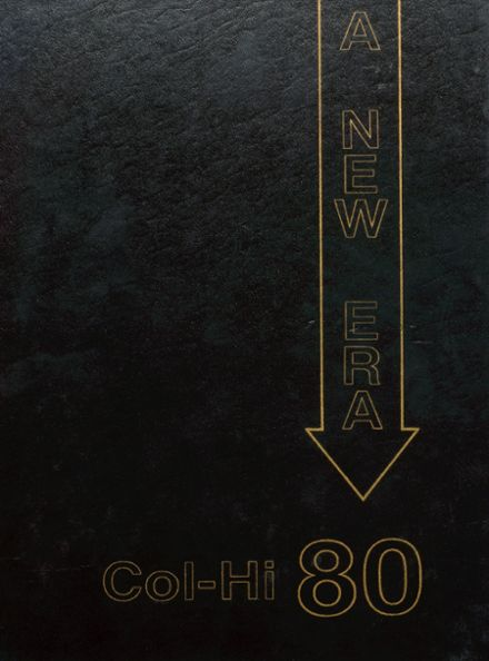 1980 College High School Yearbook Cover
