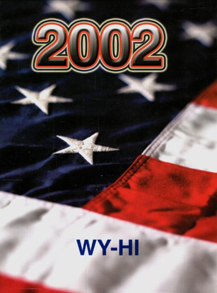 2002 Roosevelt High School Yearbook Cover