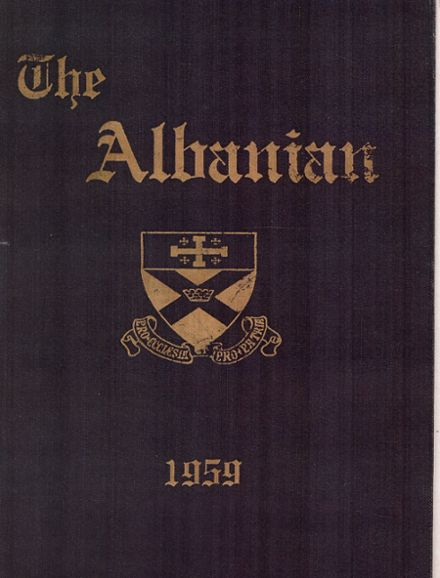 1959 St. Albans High School Yearbook Cover