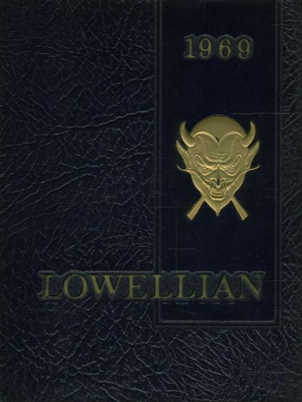 1969 Lowell High School Yearbook Cover