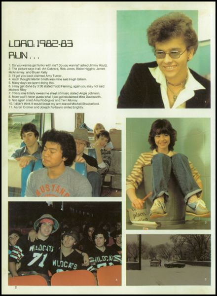 1983 Elkhart High School Yearbook Page 6