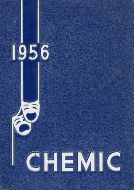 1956 Midland High School Yearbook Cover