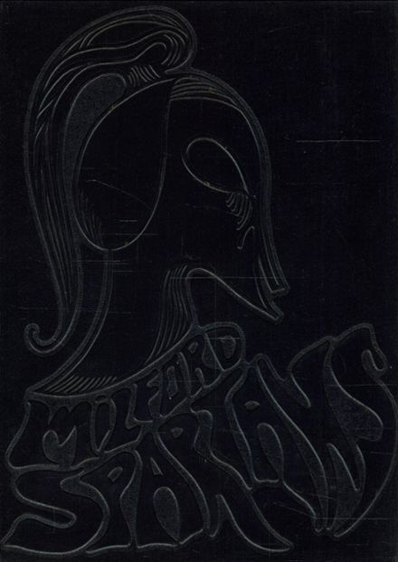 1969 Milford High School Yearbook Cover