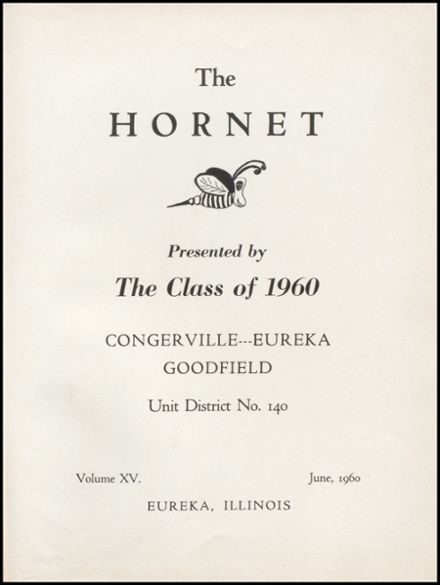 1960 Eureka High School Yearbook Page 5